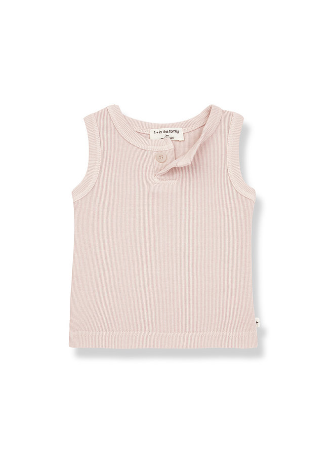 1+ in the family | genis tank top | rose