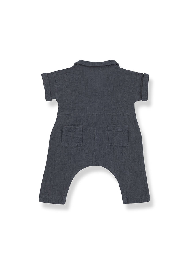 1+ in the family | carlota jumpsuit | anthracite