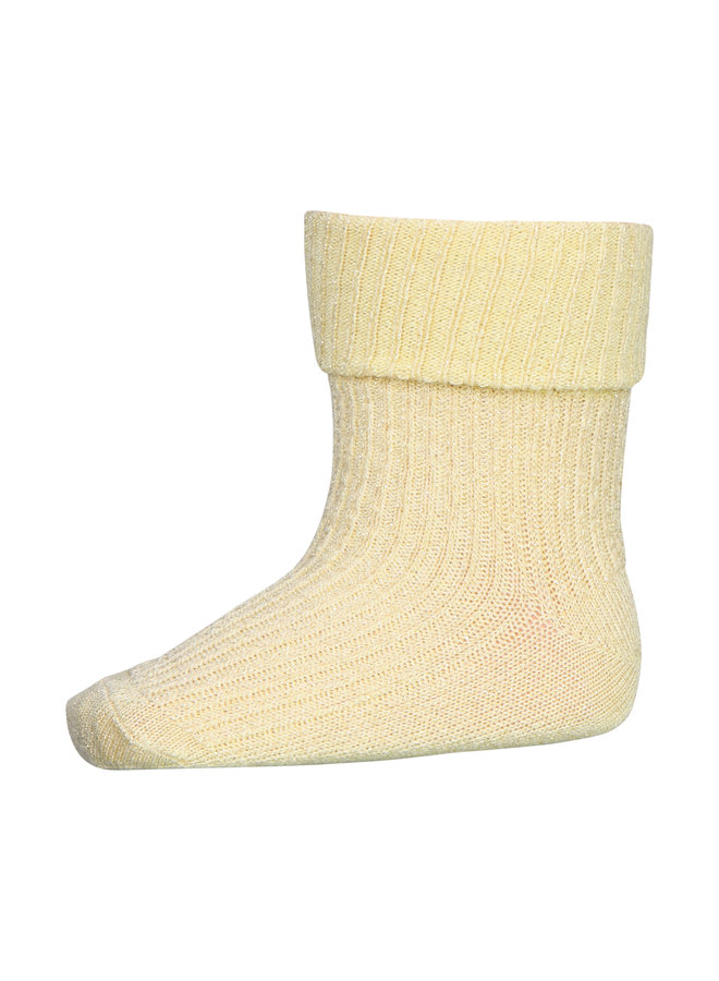 MP Denmark | ida glitter socks | wax yellow