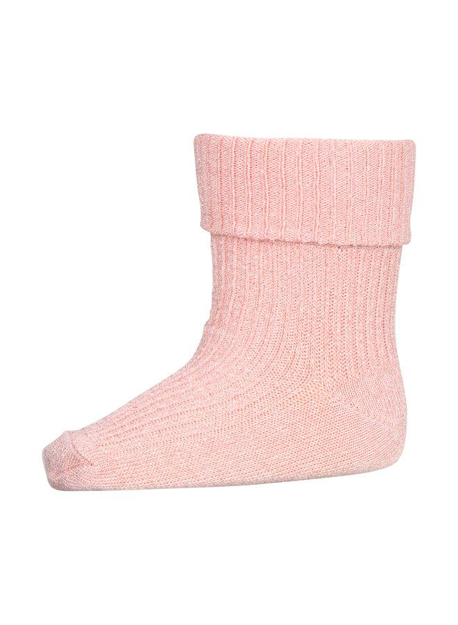 MP Denmark | ida glitter socks | guava