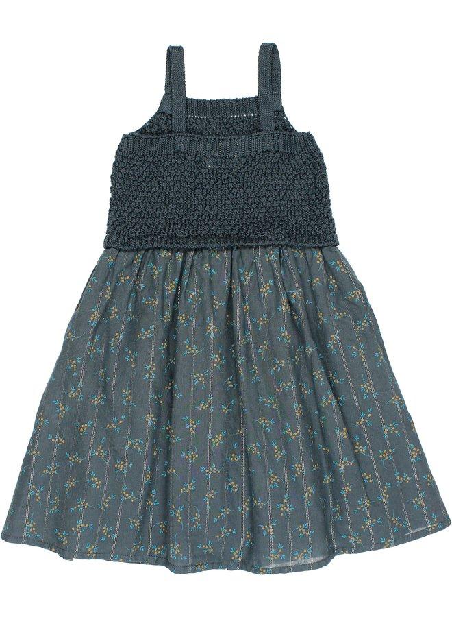 Buho | april dress | blue night