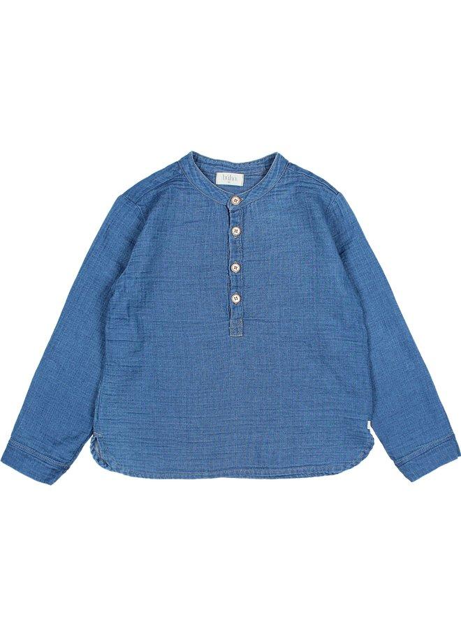 Buho   paul denim shirt   indigo