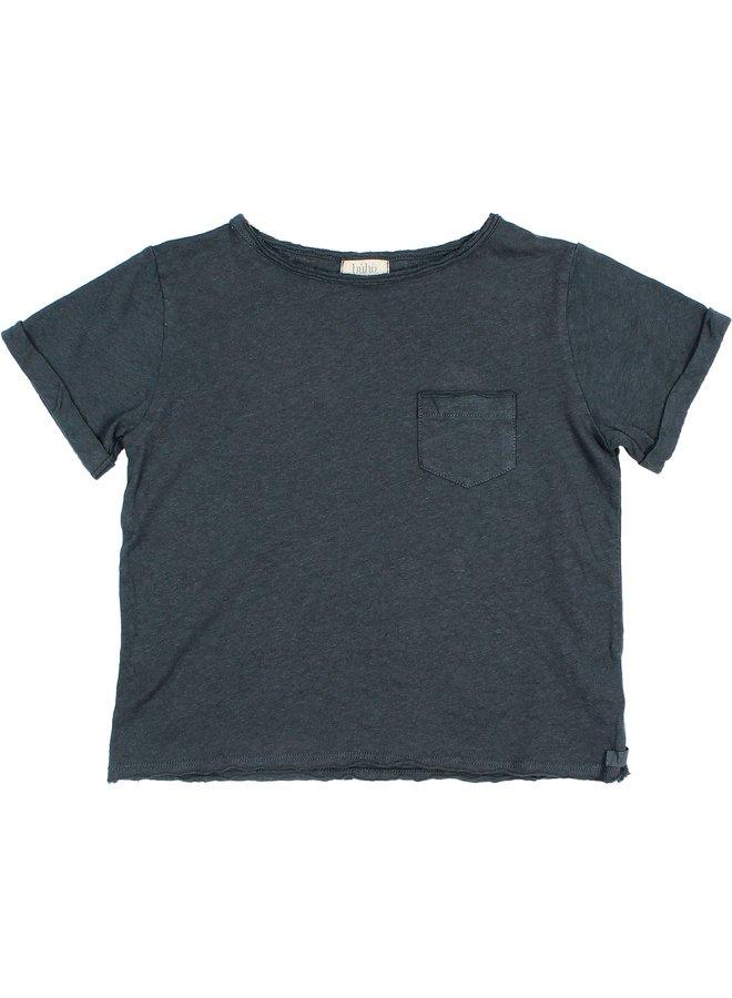 Buho   james t-shirt   blue night