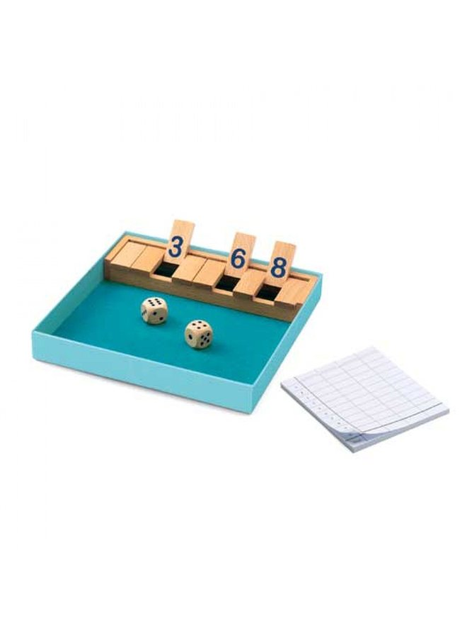 Djeco | strategiespel | shut the box