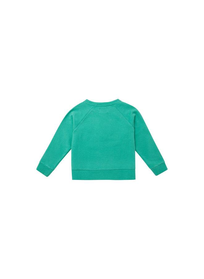 The New Society | the new society sweater | aqua