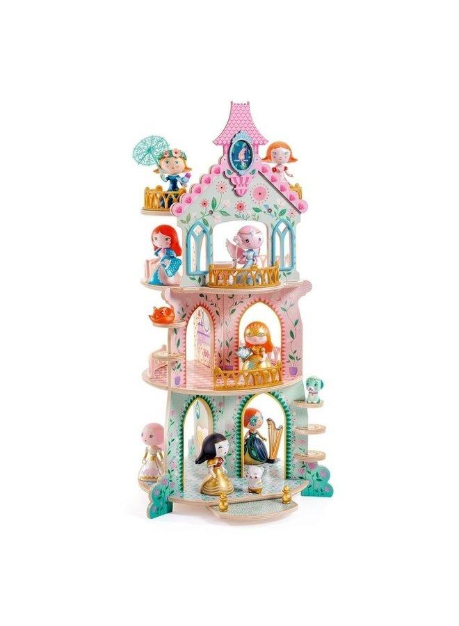 Djeco   arty toys   princessentoren