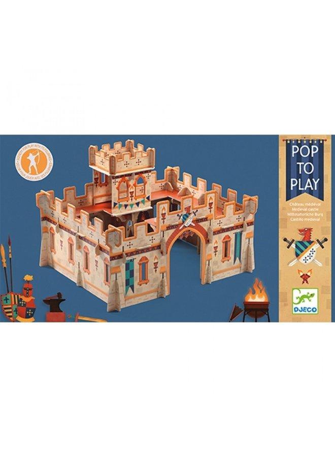Djeco | pop to play | kasteel