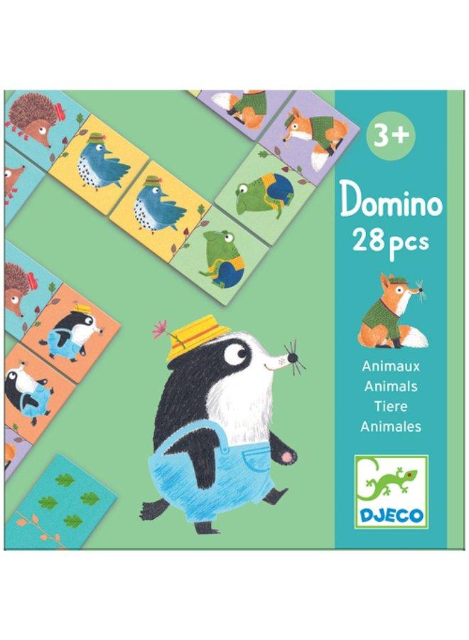 Djeco | domino | bosdieren