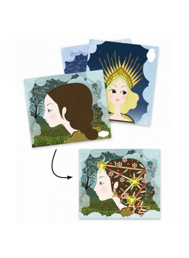 Djeco   knutselpakket elektro   tiara's