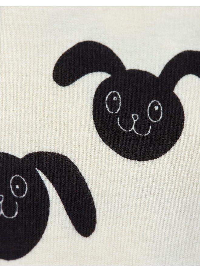 Mini Rodini | rabbits aop nb leggings