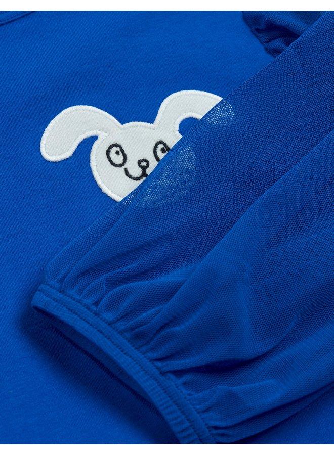 Mini Rodini | tulle balloon sleeve top