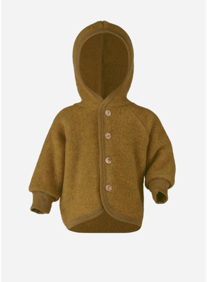 Engel | hooded jacket | saffron melange