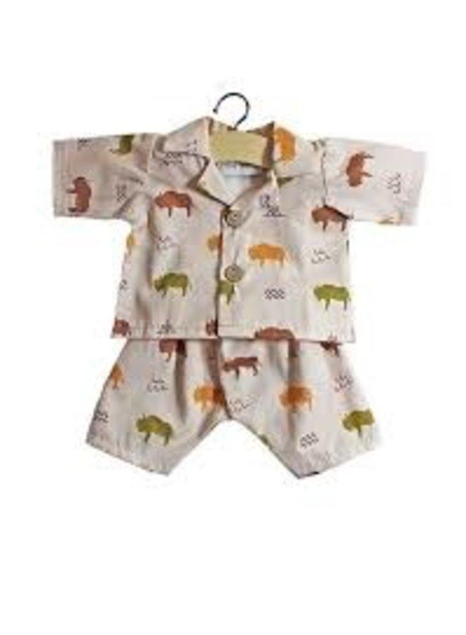 Minikane | poppenkleertjes | pyjama buffalo