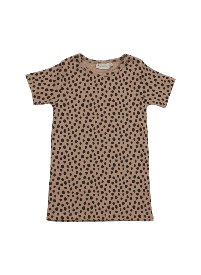 Blossom Kids   short sleeve shirt   animal dot