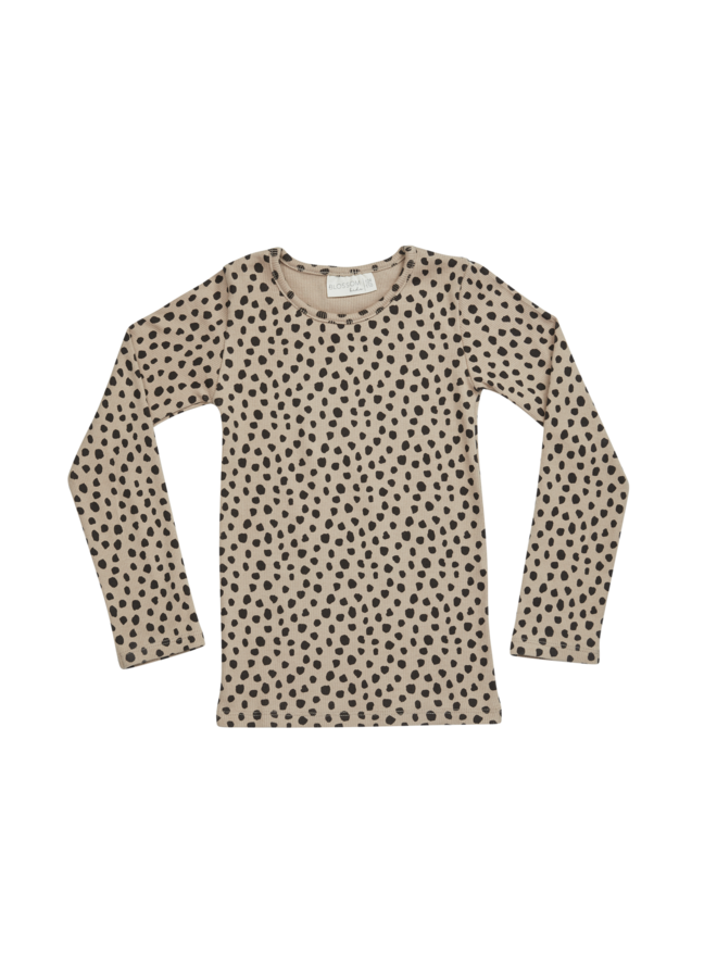 Blossom Kids | longsleeve, rib | animal dot