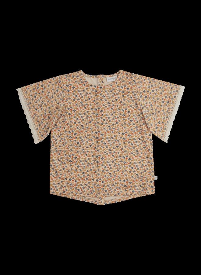 Blossom Kids | tunic short sleeves | aquarel flowers