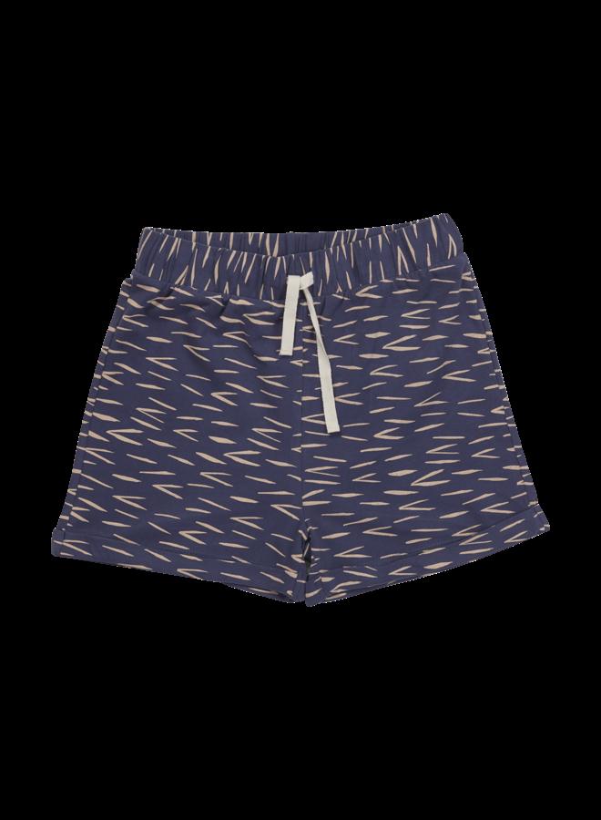 Blossom Kids | shorts zig zag | royal blue