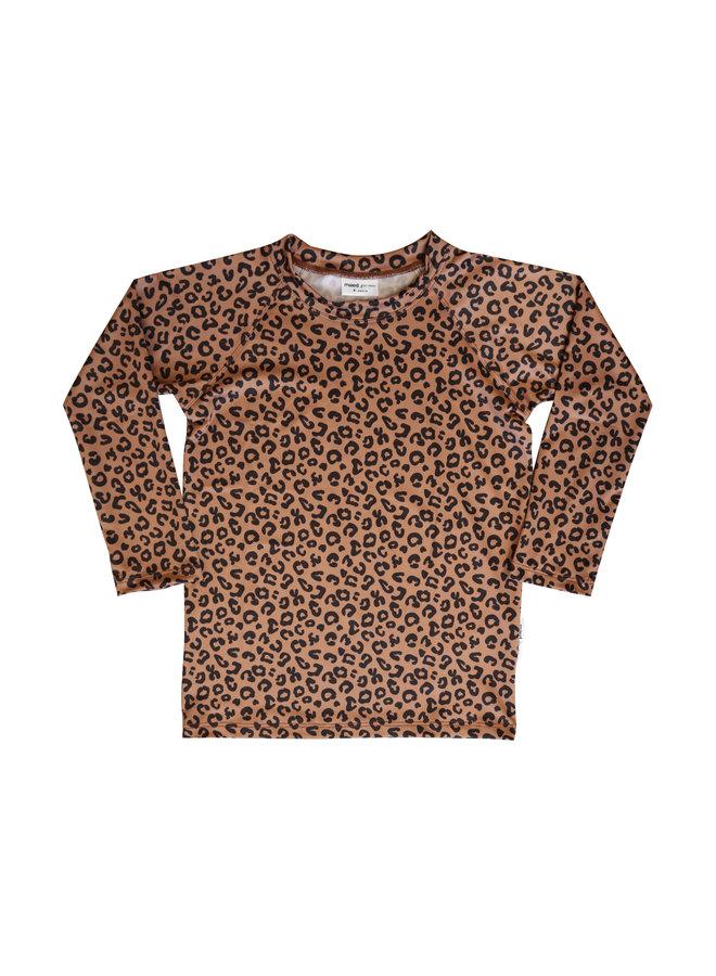 Maed for mini | brown leopard aop | swimwear