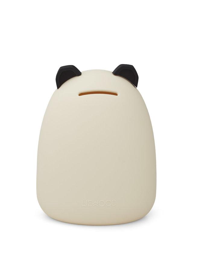 Liewood | palma money bank | panda creme de la creme