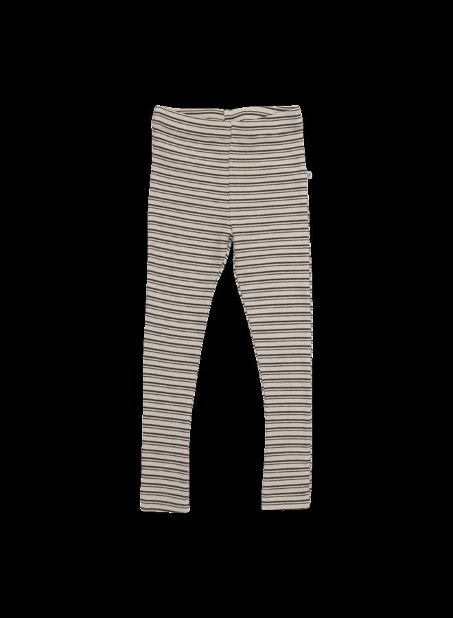 Blossom Kids | legging | stripes cinnamon