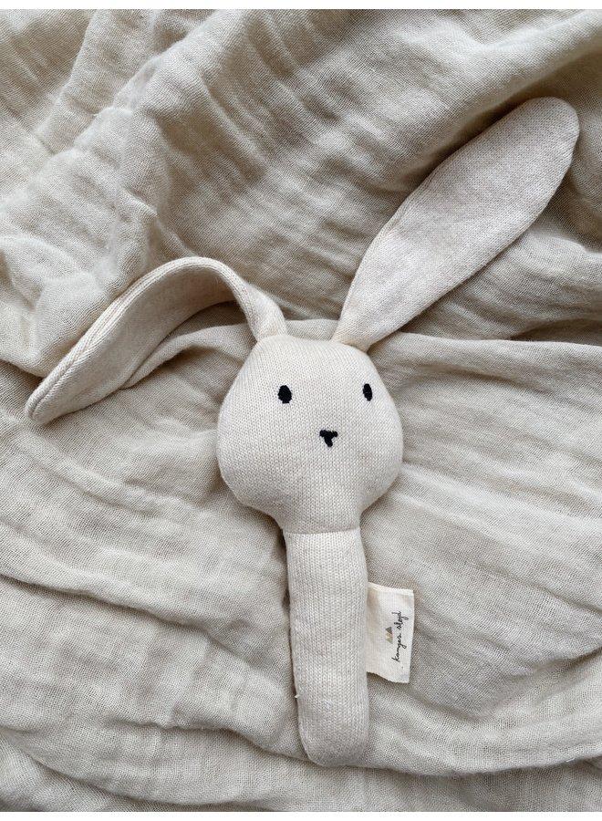 Konges Slojd   activity had rabbit   off white melange