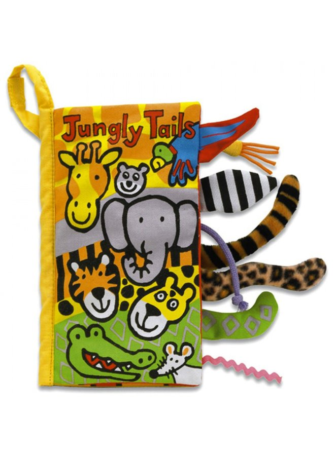 Jellycat   tails jungly book