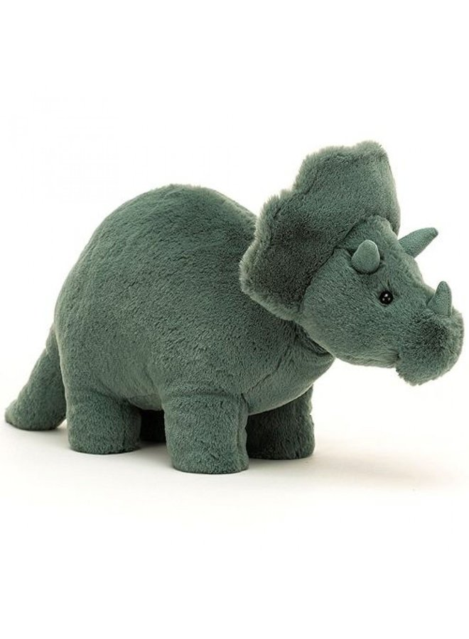 Jellycat | fossilly triceratops