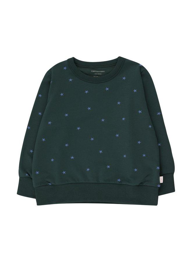 Tinycottons | starfish sweatshirt | ink blue/iris blue
