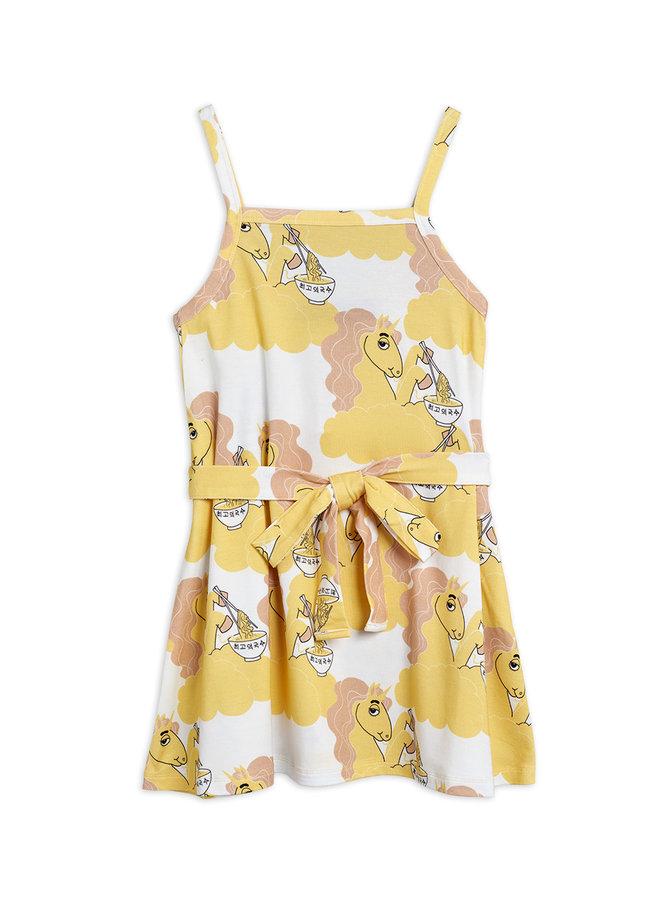 Mini Rodini   unicorn noodles tank dress