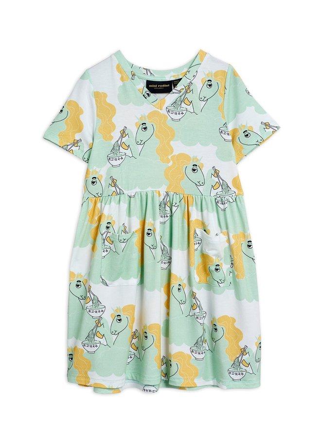 Mini Rodini | unicorn noodles ss dress