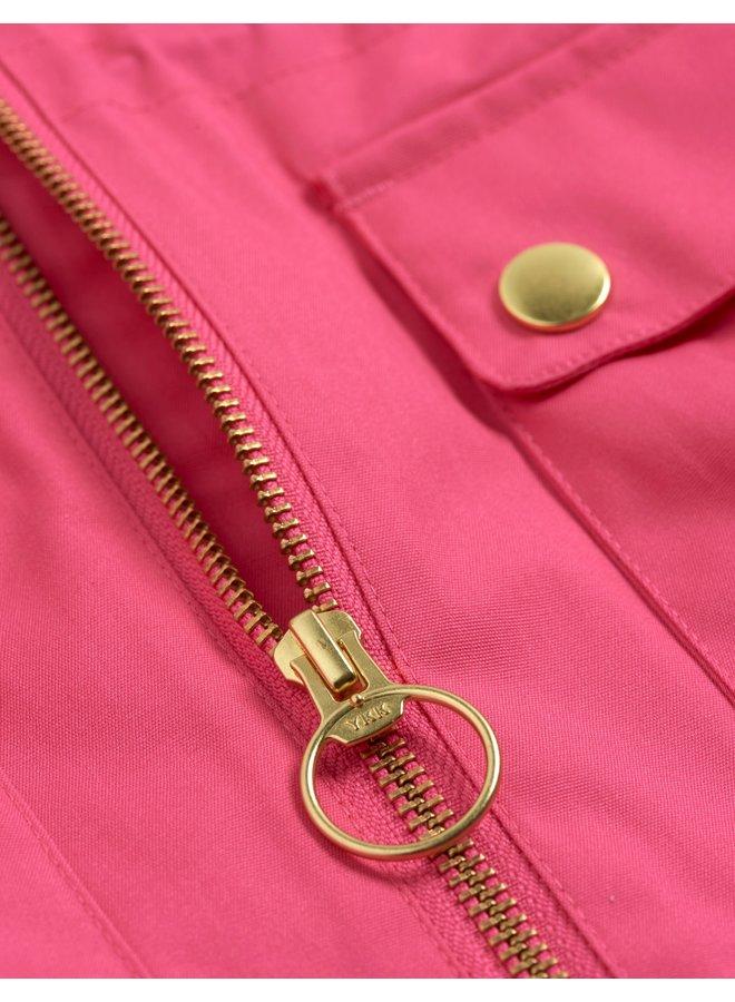 Mini Rodini | panda jacket | pink