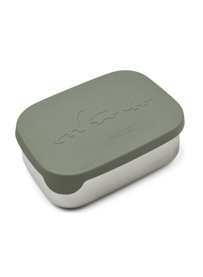Liewood | arthur lunch box | dino faune green