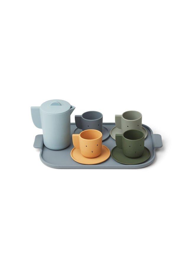 Liewood   ophelia tea set   blue multi mix