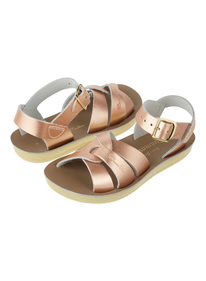 Salt Water Sandals | swimmer | rose gold