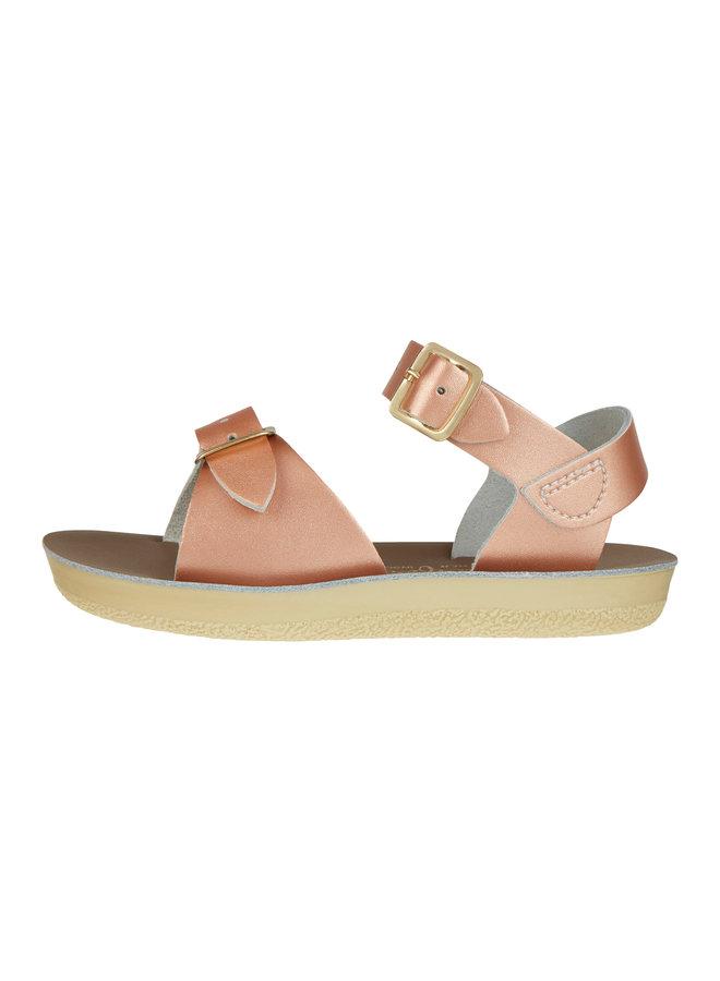 Salt Water Sandals | surfer | rose gold