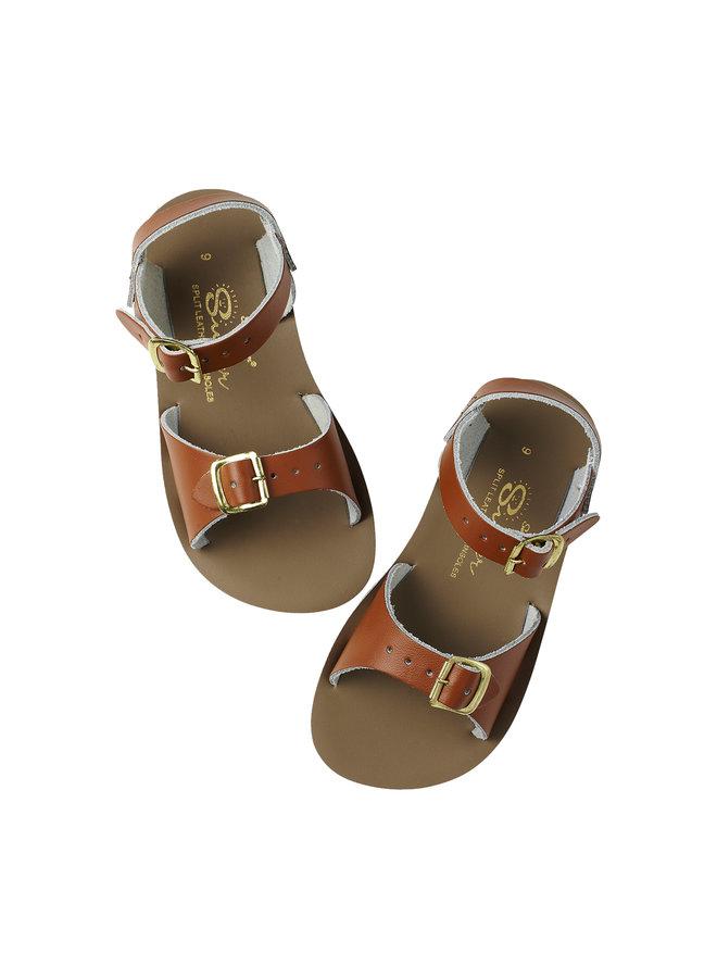 Salt Water Sandals | surfer | tan