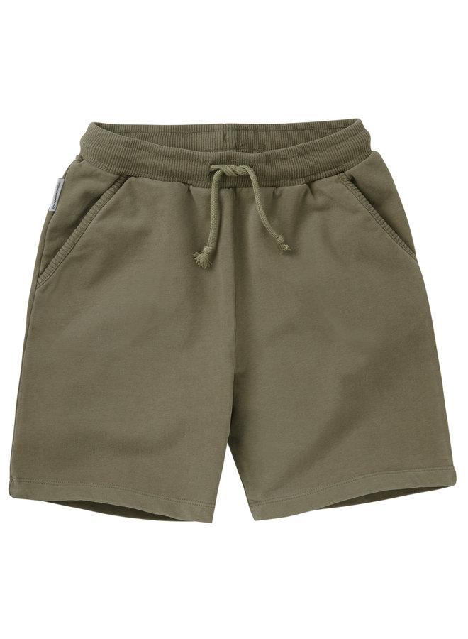 Mingo | sweat short | sage green