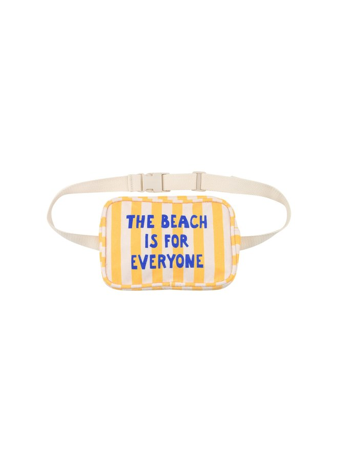 Tinycottons | the beach is for everyone fanny bag