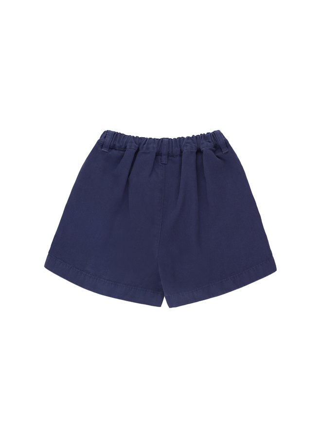 Tinycottons | solid retro shorts | indigo