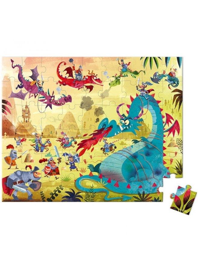 Janod | puzzel | draken