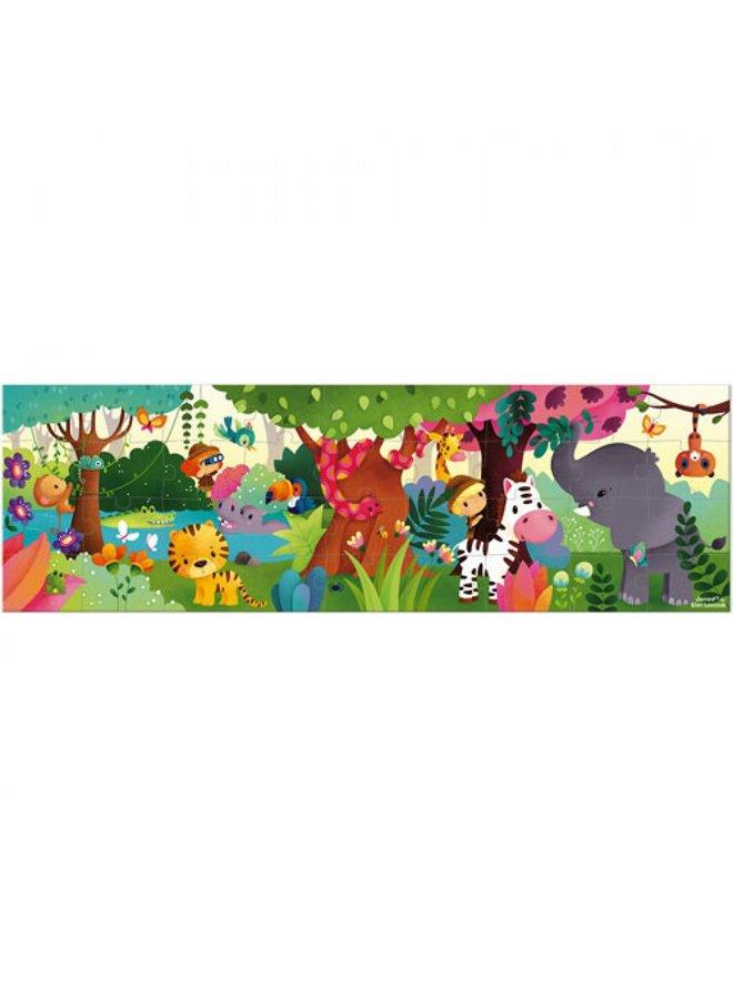 Janod | puzzel | panorama jungle
