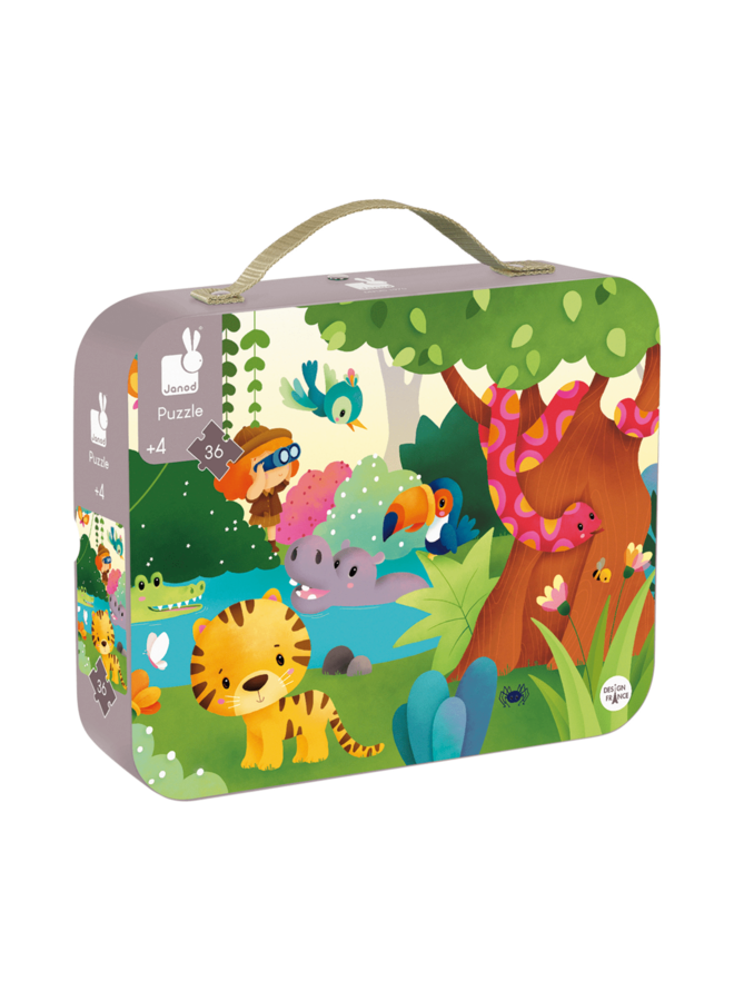 Janod | puzzel | panorama jungle | 36 stukjes