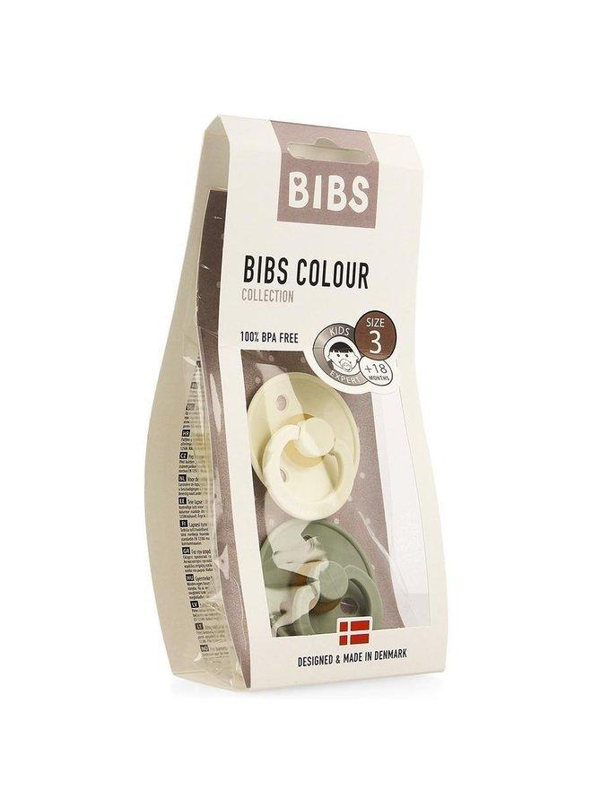 Bibs | fopspeen | blister sage/ivory | T3