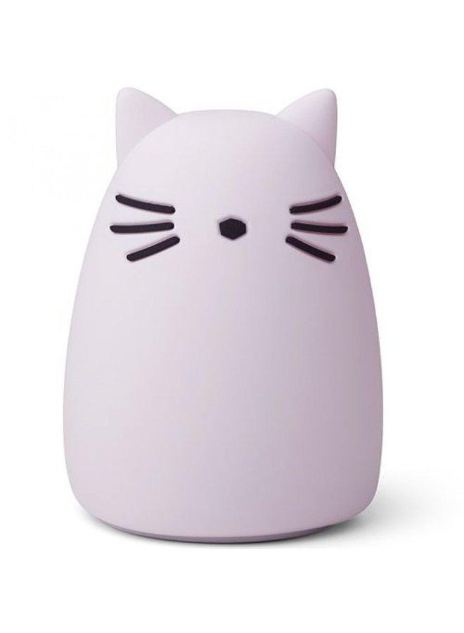 Liewood | winston night light |  cat light lavender