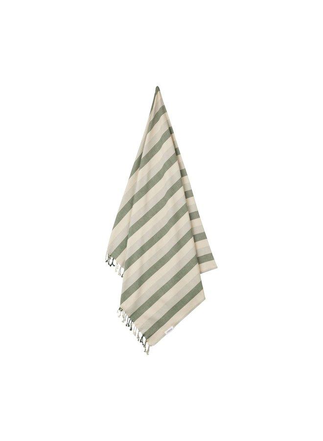 Liewood | mona beach towel | garden green/sandy/dove blue