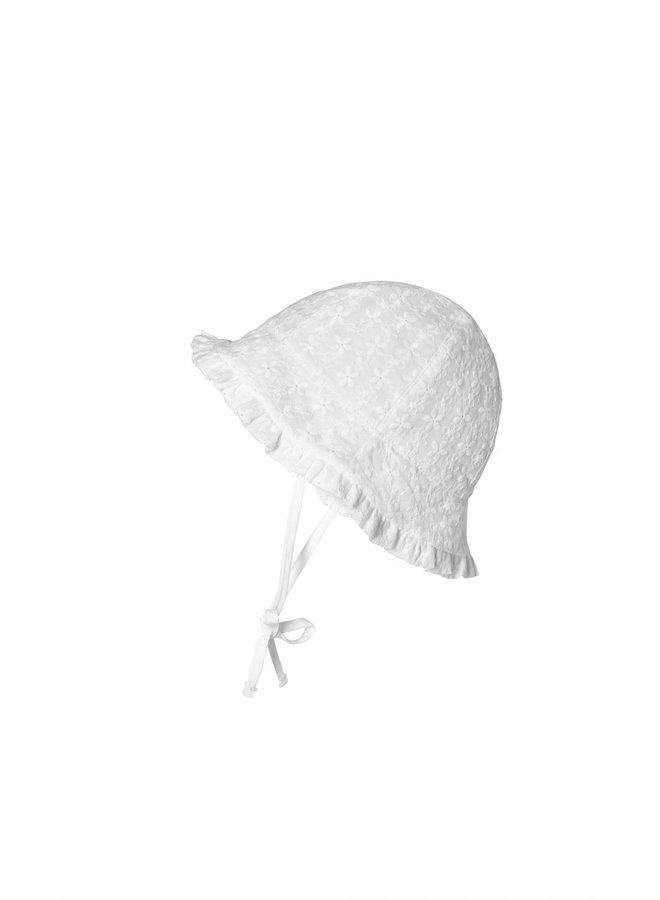 MP Denmark | flora bell hat | wit