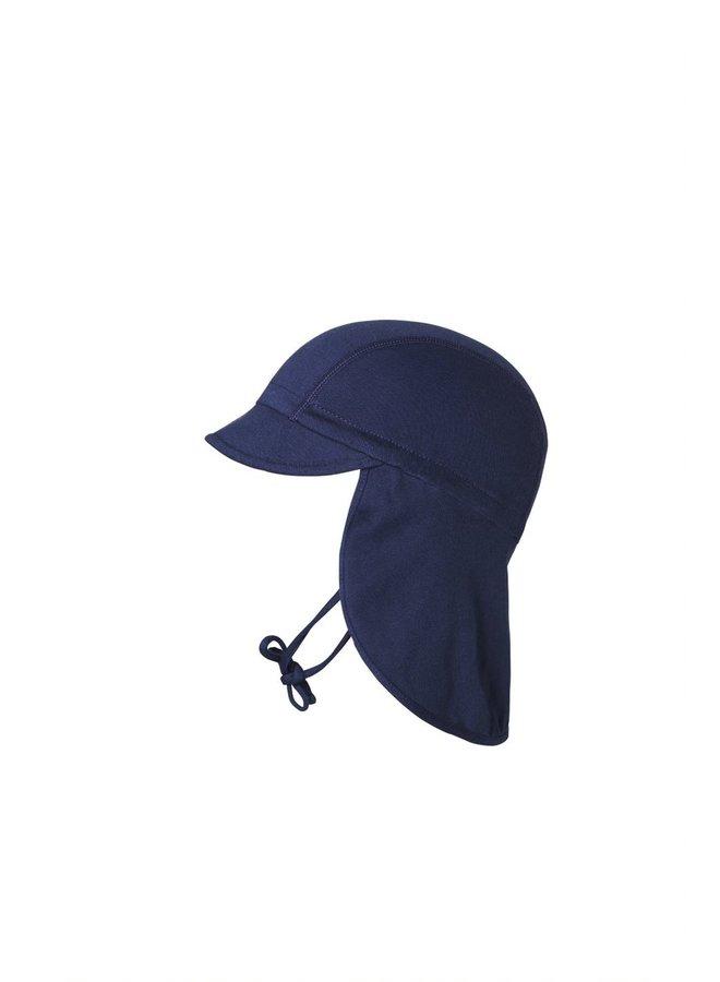MP Denmark | sami cap with neck shade | blauw