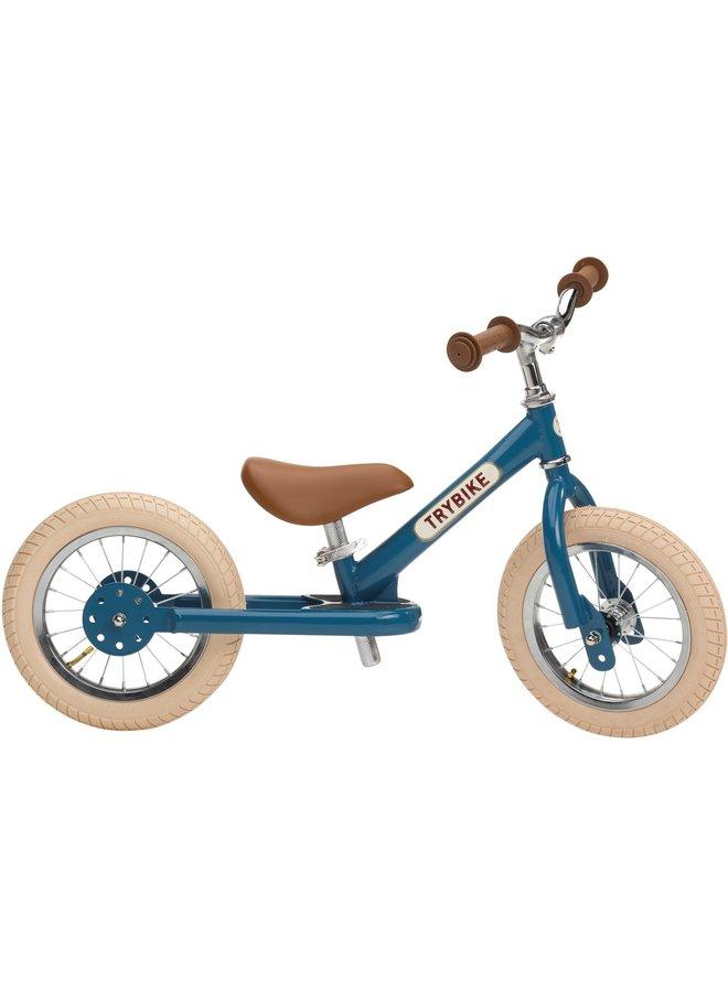 Trybike | steel loopfiets | vintage blauw