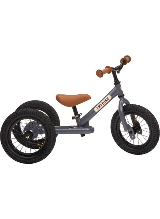 Trybike | steel driewieler | grijs
