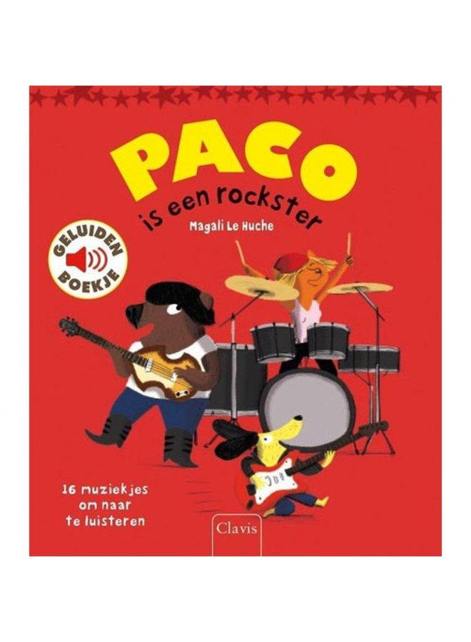 Boeken | paco is een rockster | geluidenboek | 3+